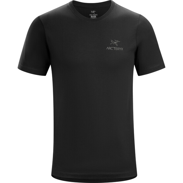 Arc'teryx Emblem Kurzarm T-Shirt Herren black