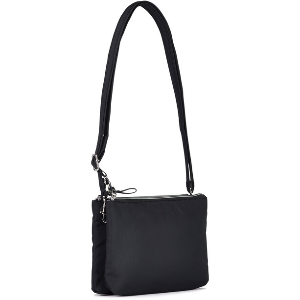 Pacsafe Stylesafe Doppel Zip Crossbody-Tasche schwarz