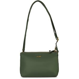 Pacsafe Stylesafe Bolso doble con cremallera, verde verde