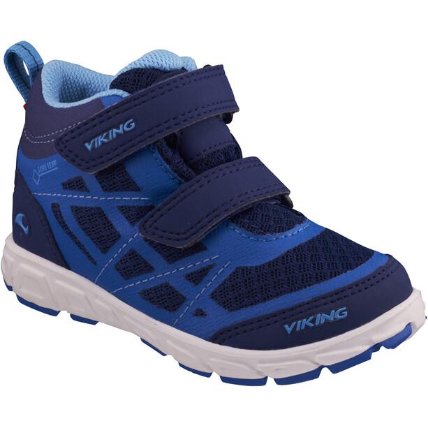 Viking Footwear Veme Mid GTX Schuhe Kinder dark blue/blue