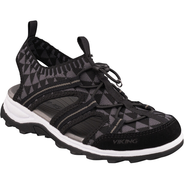 Viking Footwear Ulvik Sandalen Kinder schwarz/grau