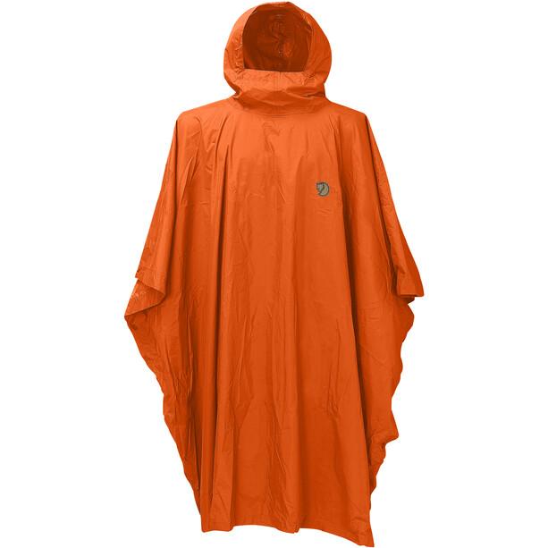 Fjällräven Poncho safety orange