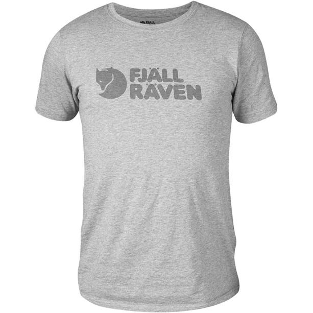 Fjällräven Logo T-Shirt Herren grey