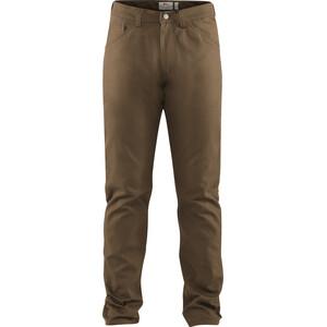 Fjällräven Greenland Pantalon en toile Homme, marron marron