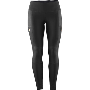 Fjällräven Abisko Trail Tights Damen black black
