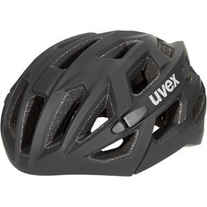 UVEX Race 7 Helm schwarz schwarz
