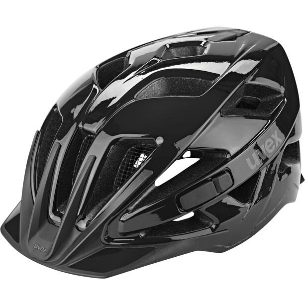 UVEX Active Helm black shiny