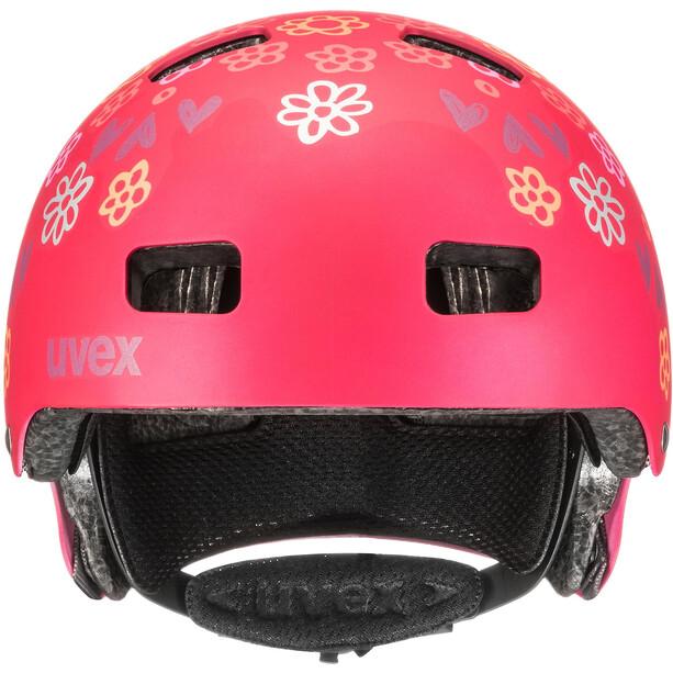UVEX Kid 3 CC Helm Kinder dark red