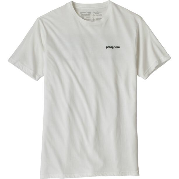 Patagonia P-6 Logo Organic T-Shirt Herren white