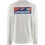 Patagonia Cap Cool Daily Graphic Langarmshirt Herren boardshort logo/white