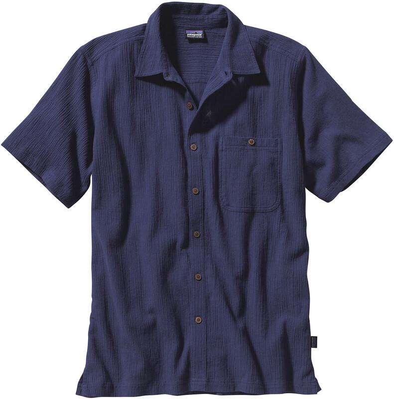 Patagonia A/C Shirt Herren classic navy Kurzarm Hemden L 52921-CNY-L