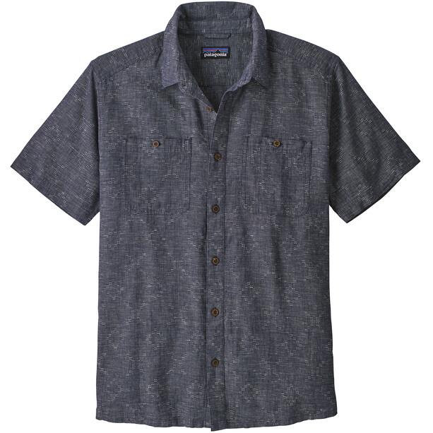 Patagonia Back Step T-shirt Homme, goshawk dobby/neo navy