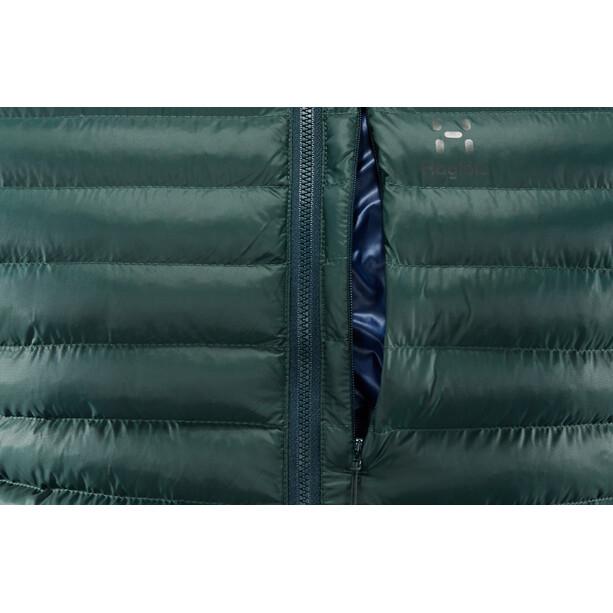 Haglöfs Essens Mimic Hooded Jacket Herr mineral/tarn blue