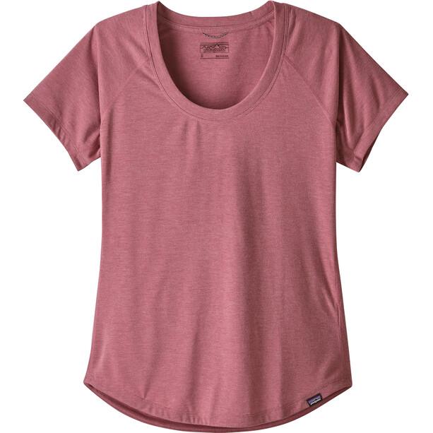 Patagonia Cap Cool Trail SS Shirt Dam star pink