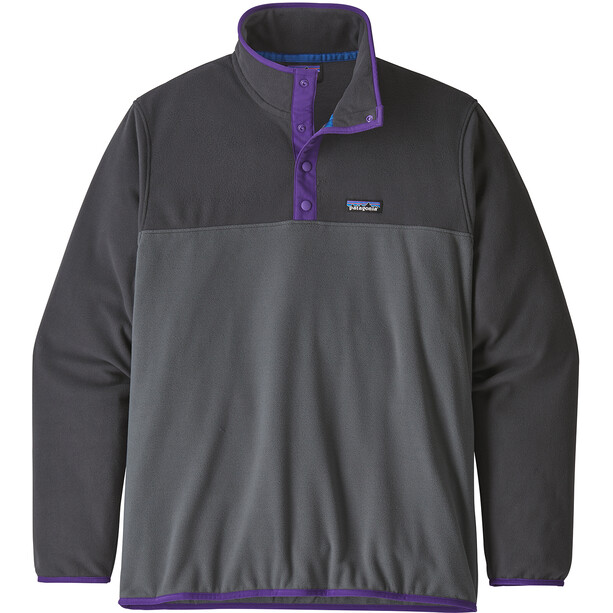 Patagonia Micro D Snap-T Pullover Herr forge grey