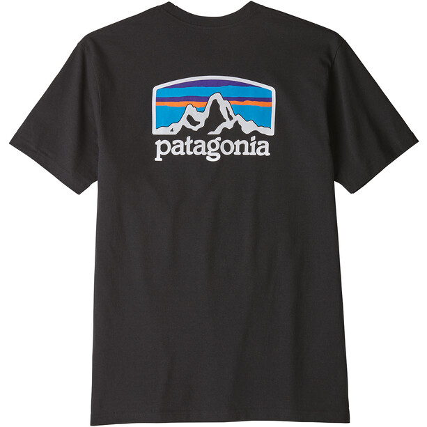Patagonia Fitz Roy Horizons Responsibili Tee Herr black
