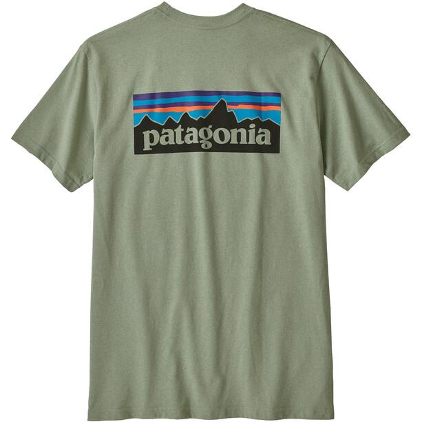 Patagonia P-6 Logo Responsibili Tee Herr celadon