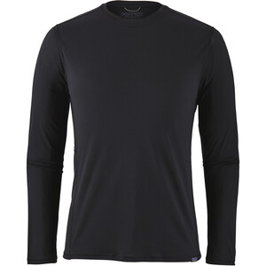 Patagonia Capilene Cool Lightweight LS Shirt Herr black black