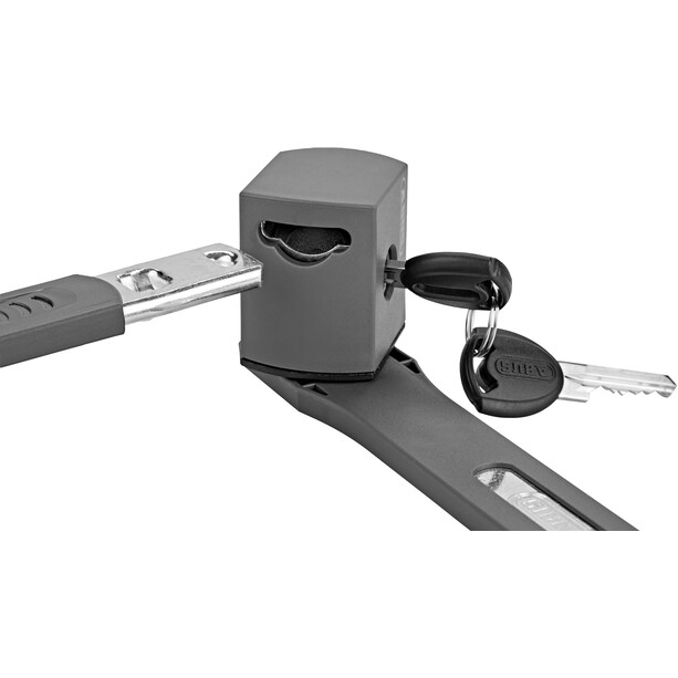 Bontrager Elite Faltschloss mit Schlüssel 80cm black