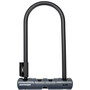 Bontrager ABUS Elite Keyed U-Lock with Cable black