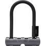 Bontrager Elite Mini Bügelschloss mit Schlüssel black