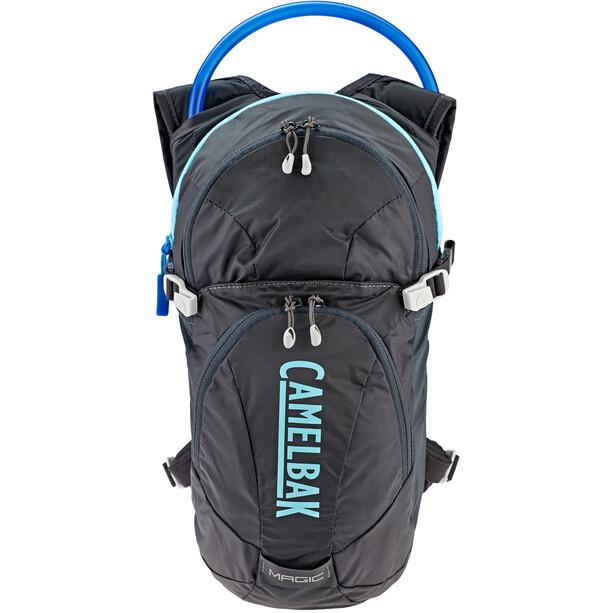 CamelBak Magic Hydration Pack 2L bottle Women charcoal/lake blue