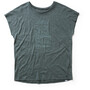 Houdini Activist Message Tee Dam deeper green/go gree