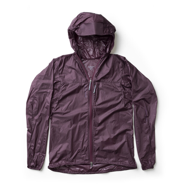 Houdini Come Along Jacket Dam last round red