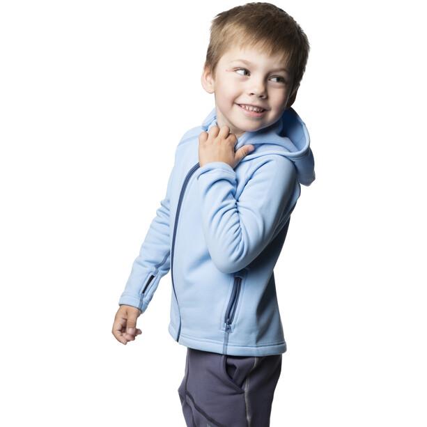 Houdini Power Houdi Jacke Kinder boost blue