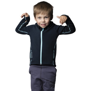 Houdini Power Houdi Jacke Kinder blue illusion blue illusion