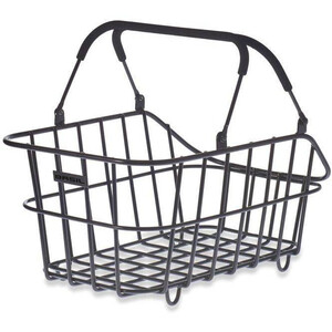 Basil Cento Alu Multi System Nordlicht Rear Wheel Basket black black