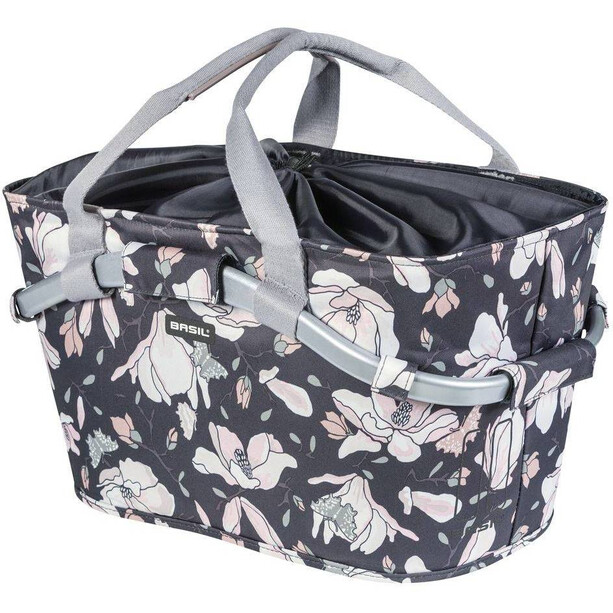 Basil Magnolia Rear Wheel Design Basket 22l, with MIK adapter plate pastel powders