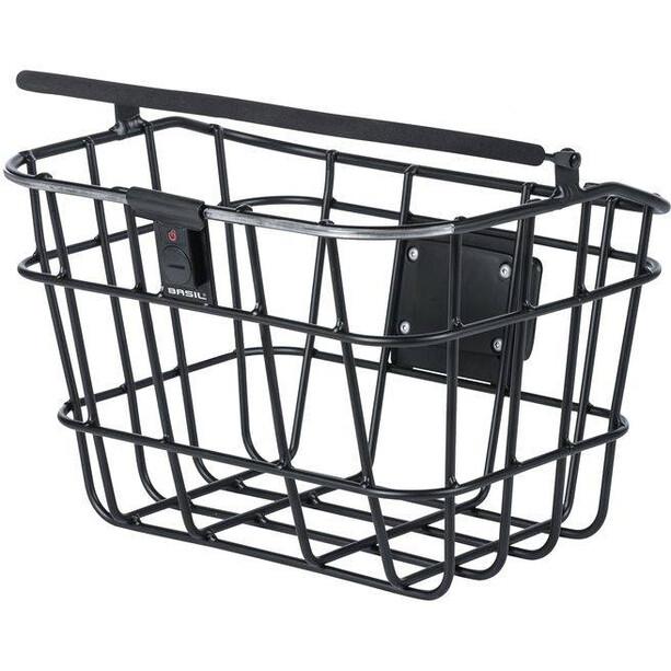 Basil Bremen Alu KF Nordlicht Front Wheel Basket svart