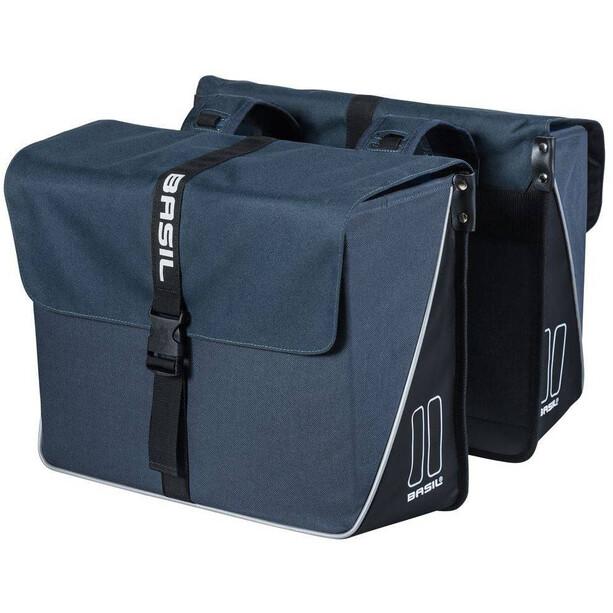 Basil Forte Doppel-Gepäckträgertasche 35l navy blue/black