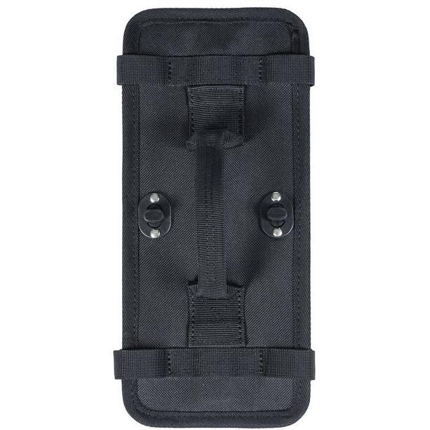 Basil Platte für abnehmbare Befestigung für Doppelpacktasche schwarz