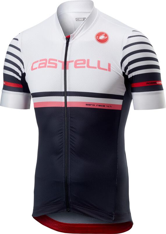 Castelli Free AR 4.1 Kortermede Sykkeltrøyer Herre Hvit Svart L 2019  Kortermede Sykkeltrøyer 61d9f1304