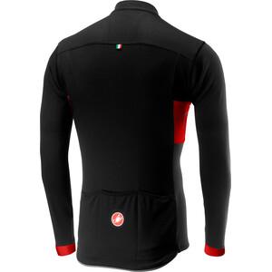 Castelli Prologo VI Langærmet cykeltrøje Herrer, sort/rød sort/rød