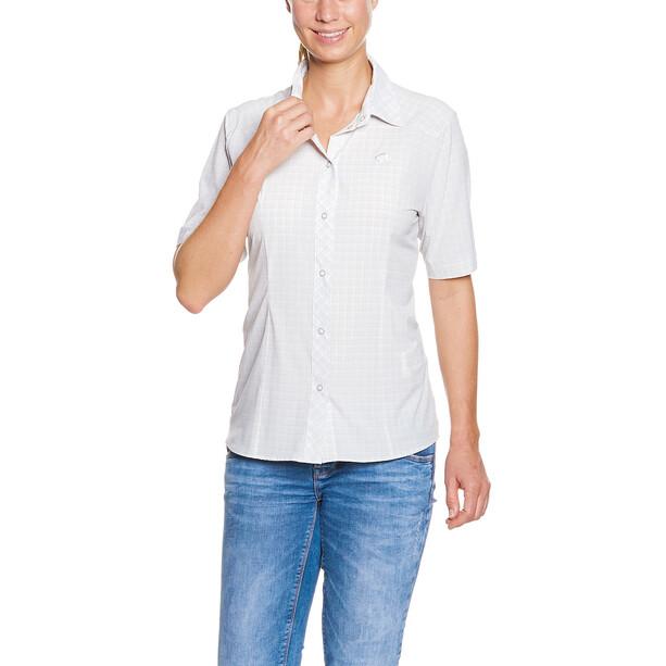 Tatonka Jonne Chemise manches courtes Femme, light grey