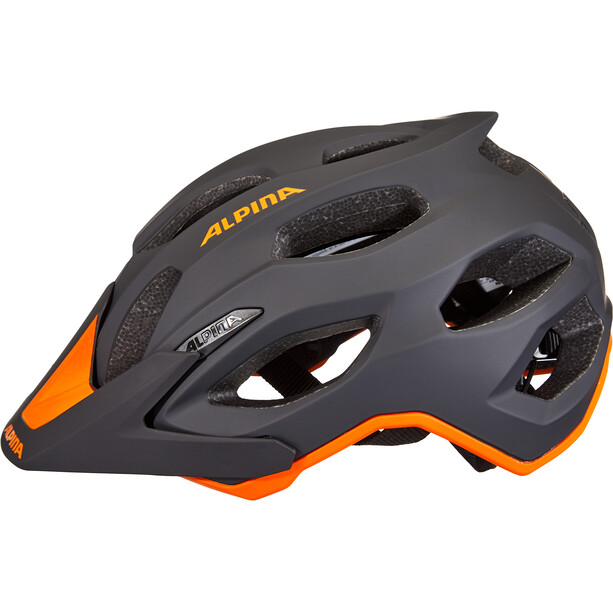 Alpina Carapax 2.0 Helm black-orange