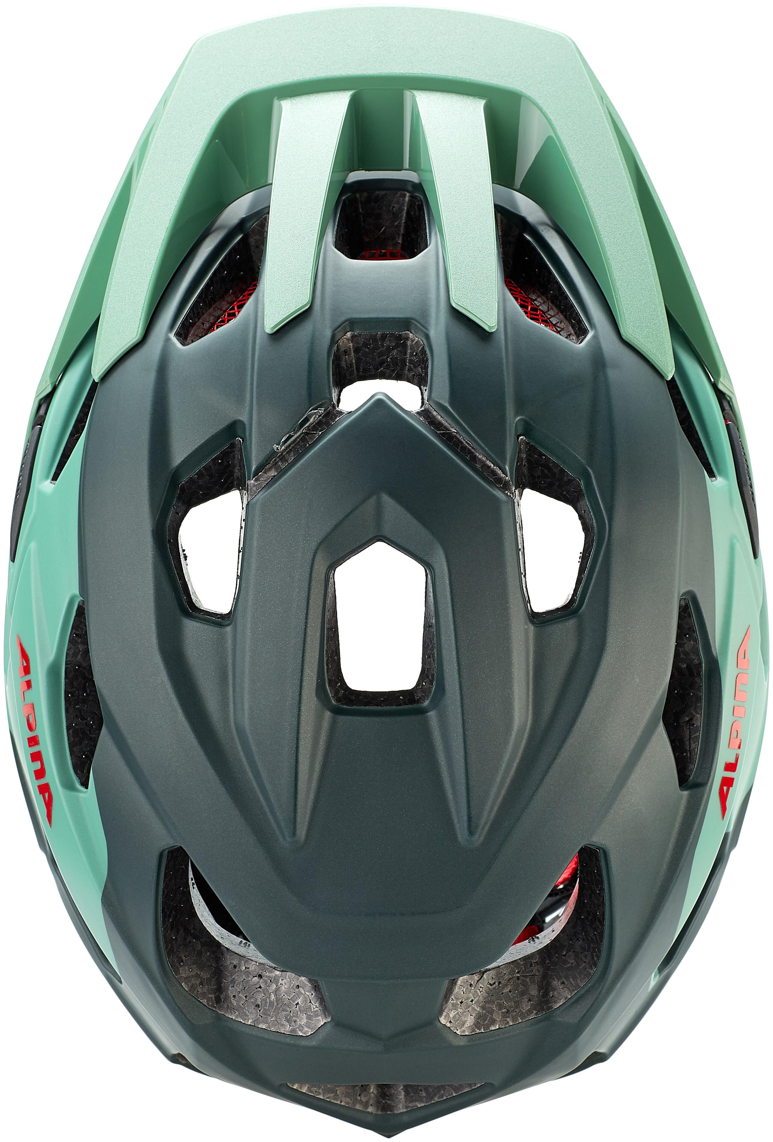 Alpina Anzana Bicycle Cycle Bike Helmet Seamoss
