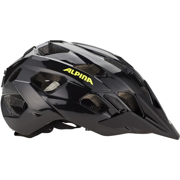 Alpina Anzana Helmet black-neon-yellow