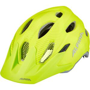 Alpina Carapax Flash Helm Jugend gelb gelb