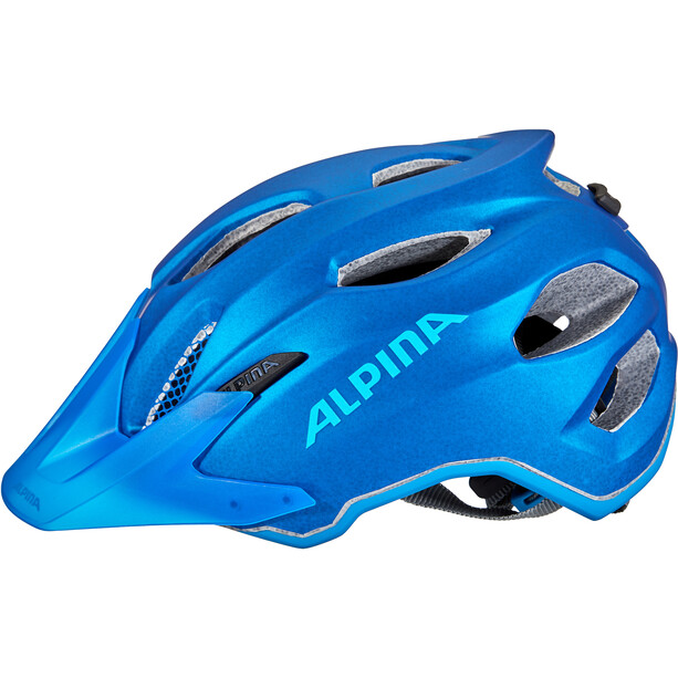 Alpina Carapax Helm Jugend blue