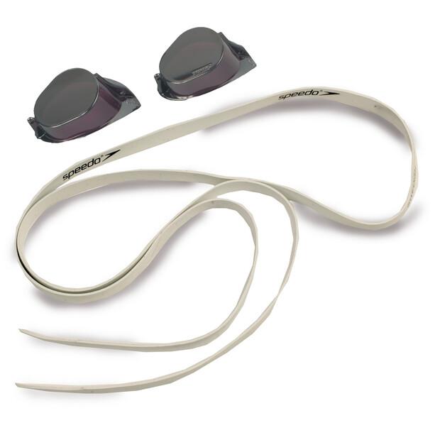 speedo Swedish Mirror Goggles black