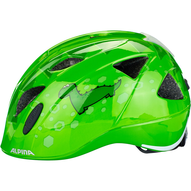 Alpina Ximo Flash Helmet Barn green dino