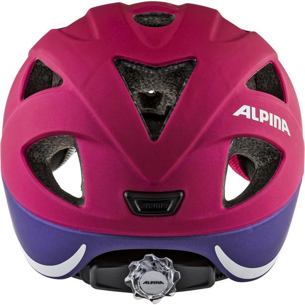 Alpina Ximo L.E. Helm Kinder deeprose-violet
