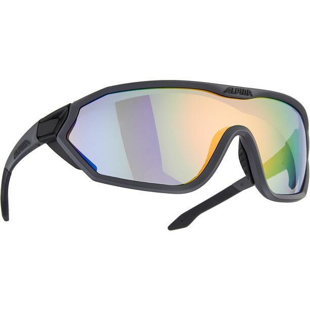 Alpina S-Way L VLM+ Brille coal matt-black