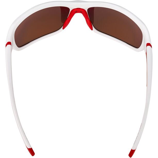 Alpina Lyron Brille weiß/rot