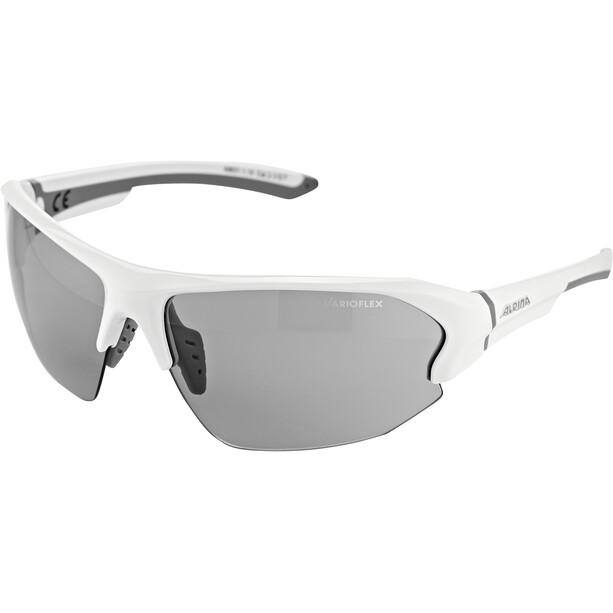 Alpina Lyron HR VL Brille white-grey