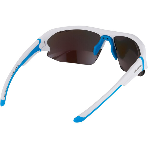 Alpina Lyron HR Brille weiß/blau